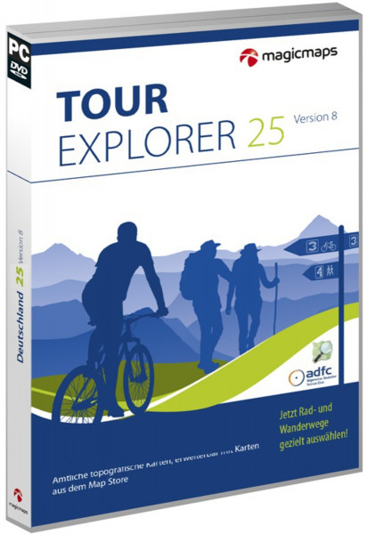 MagicMaps - Tour Explorer 25 - Set Süd 8.0
